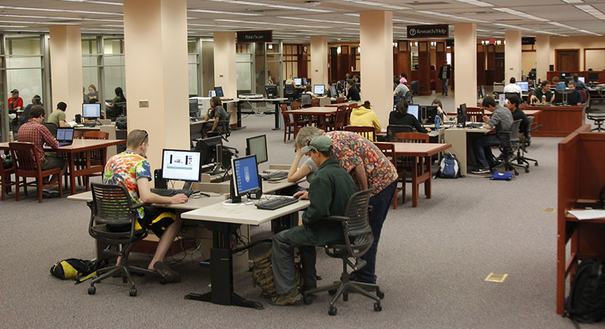 Cline Library