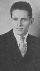 Cecil Emmett, Class of 1936. Photo courtesy of La Cuesta Yearbook, Arizona State Teachers College, 1934.