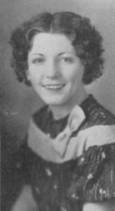 Geraldine Johnson, Class of 1937. Photo courtesy of the La Cuesta Yearbook, Arizona State Teachers College, 1934.