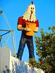 Chickenboy, Highland Park, Los Angeles, CA.