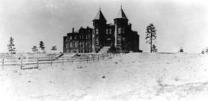 Old Main at Northern Arizona Normal School, ca. 1900