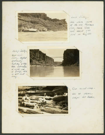 """Botanical study of the Grand Canyon by Elsie Clover and Lois Jotter, first two women on the first commercial trip down the Colorado River [constructed title], 1938.</br><a href=""""http://archive.library.nau.edu/cdm/ref/collection/cpa/id/55847"""" target=""""_blank"""">Lois Jotter Cutter Collection NAU.PH.95.3</a>"""