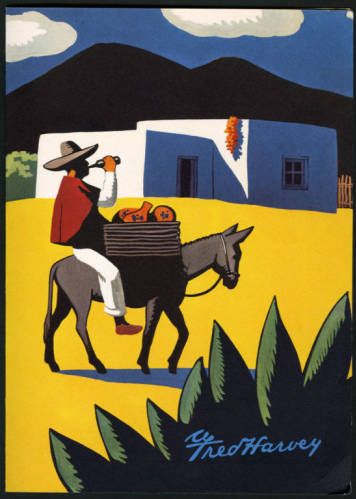 """El Tovar Hotel and Bright Angel Lodge Menus.</br><a href=""""http://archive.library.nau.edu/cdm/ref/collection/cpa/id/43636"""" target=""""_blank"""">Fred Harvey (Firm) Collection nm280g000s003b001f0003</a>"""