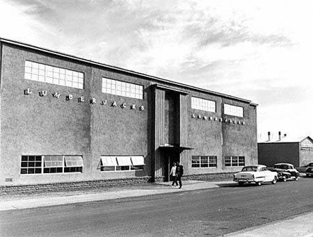 Louie S Legacy Lumberjack Gymnasium