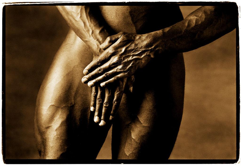mac white's hands