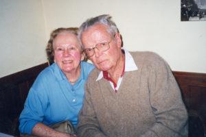 Bernie and John Bennett, ca. 1999