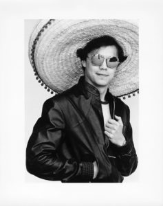 Stephen Bennett with Sombrero, ca. 1990