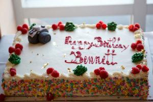 Bennett Birthday Cake