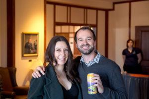 Shannon Sassone and Jonathan Pringle