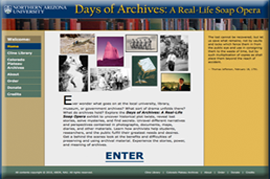 Days of Archives Exhibit