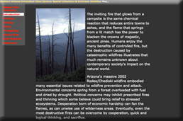 Fire on the Plateau Exhibit
