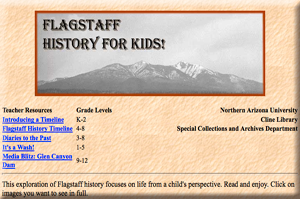 Flagstaff History for Kids Exhibit