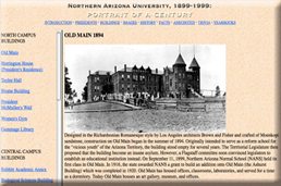 Northern Arizona University: Portrait of a Century Exhibit