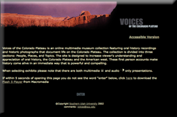 Voices of the Colorado Plateau Exhibit