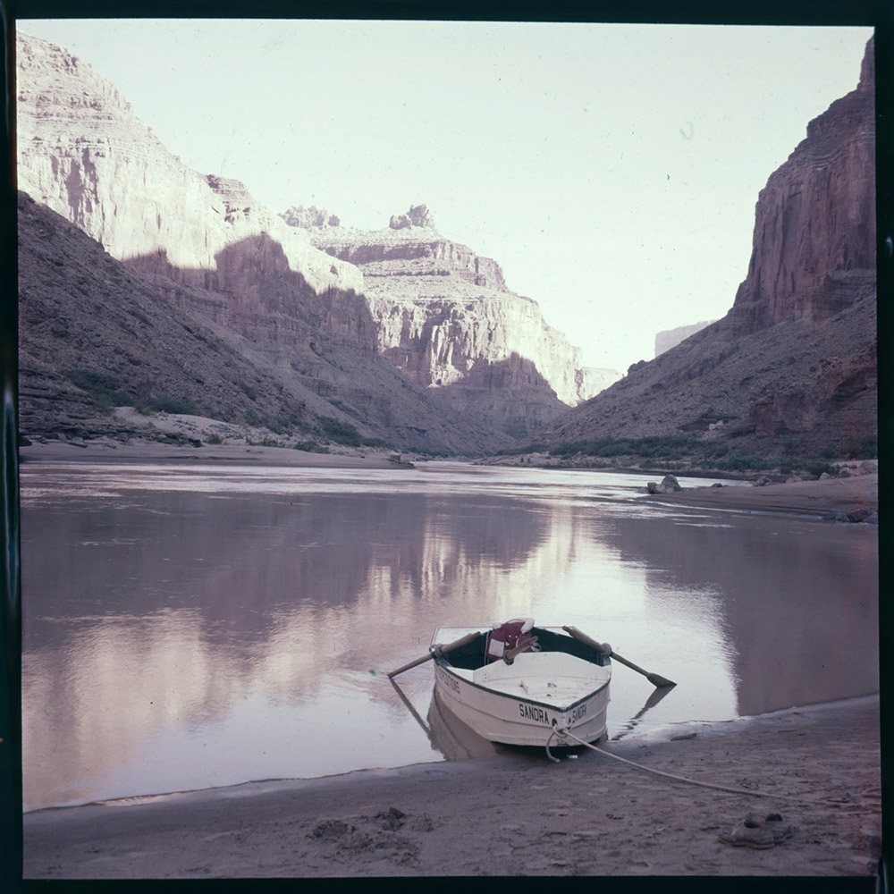 Boat in the Grand Canyon