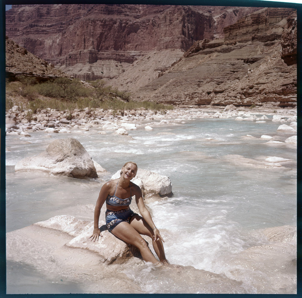 Katie Lee in Grand Canyon