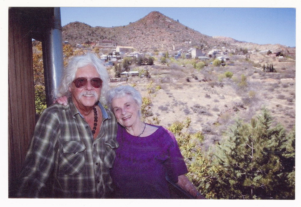 Arlo Guthrie and Katie Lee in Jerome