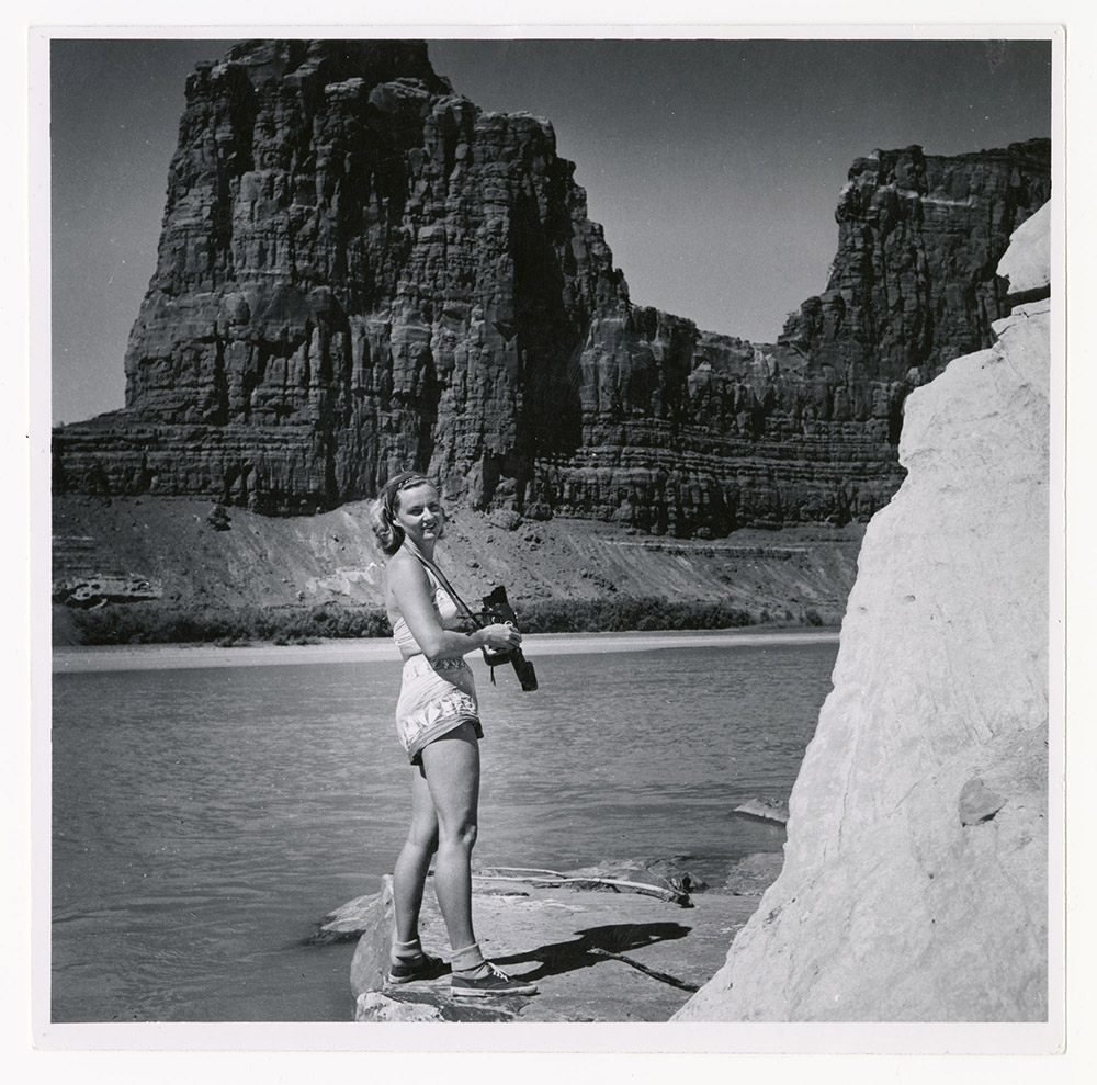 Katie Photographing Glen Canyon