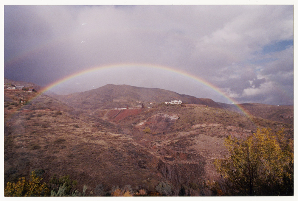 Rainbow over Jerome