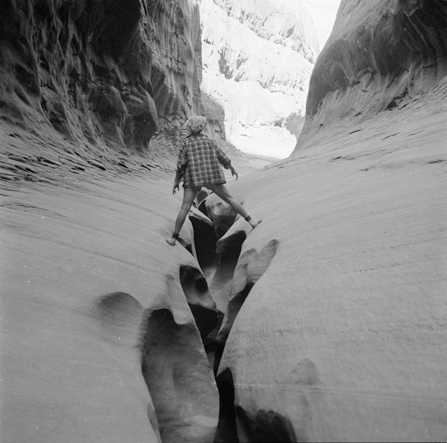 Katie Lee in Labrynth Canyon