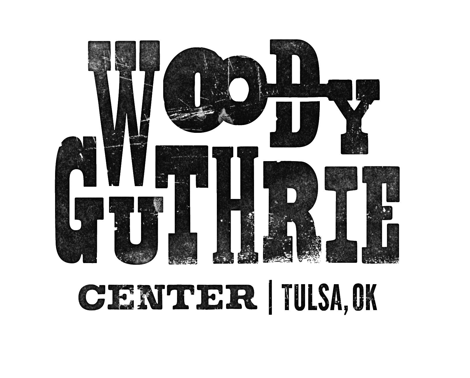 Logo for the Woody Guthrie Center Tulsa OK