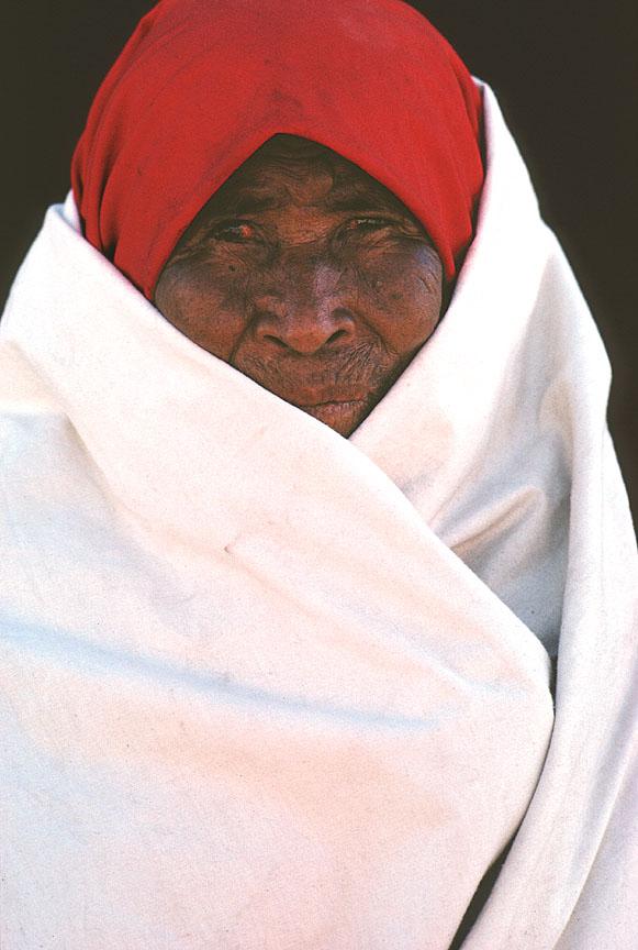 [Tarahumara Woman in Wrap]
