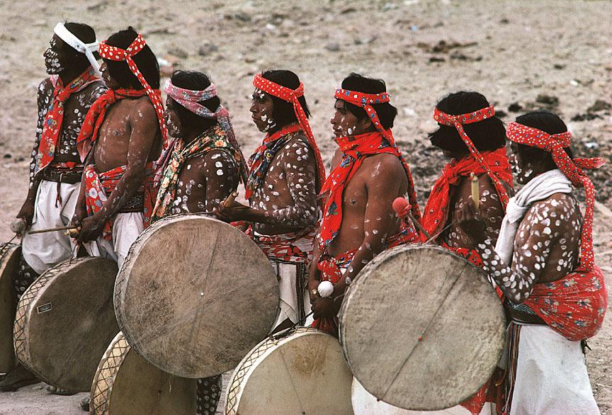 [Tarahumara Drummers]